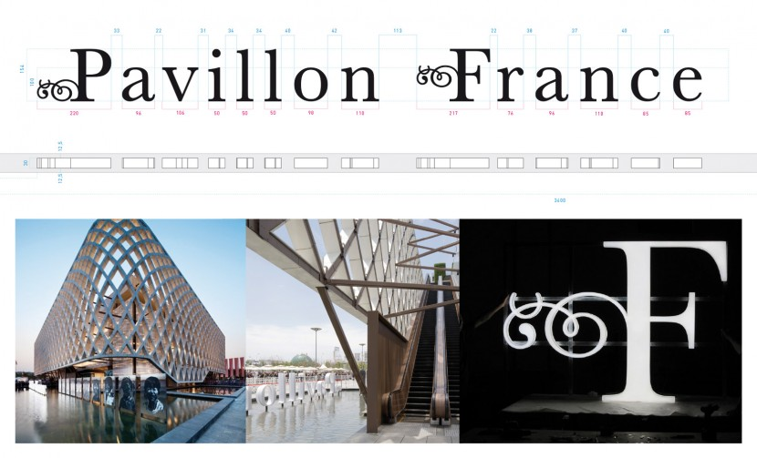 olivier andreotti graphiste, toluca studio, exposition universelle pavillon france