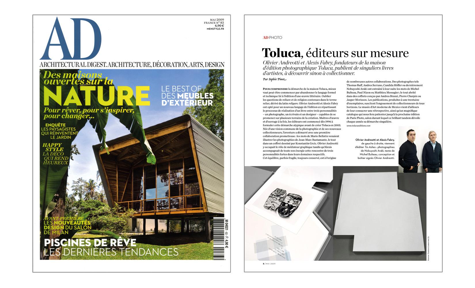 Deco Nature Salon press publications   toluca studio